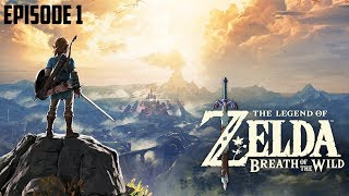 FROM THE START - LIVE WALKTHROUGH - Zelda Breath of The Wild on Nintendo Switch