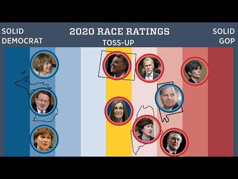 First 2020 Senate Race Ratings Are Here