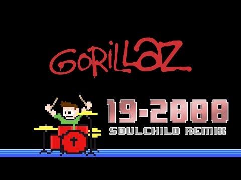 Gorillaz - 19-2000 [Soulchild Remix] (Drum Cover) -- The8BitDrummer