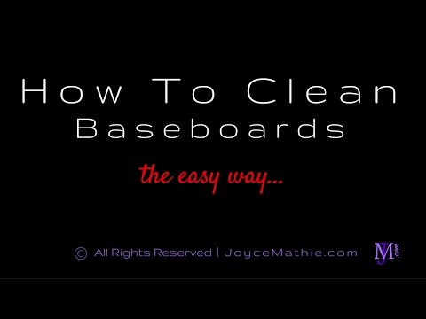 How To Clean Baseboards The Easy Way