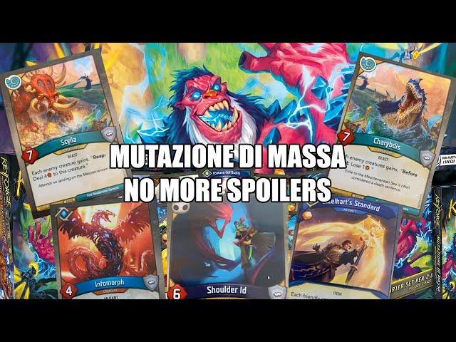 Ultimo video sugli spoiler | Keyforge: Mass Mutation