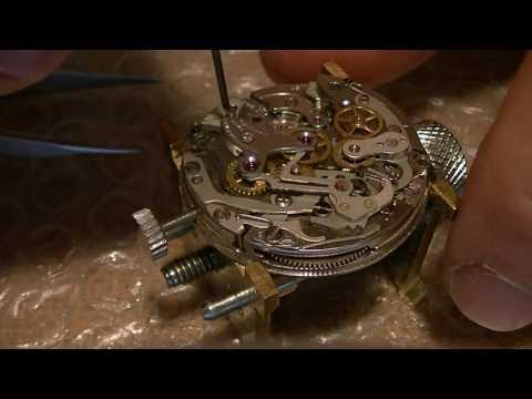 Landeron 248 Chronograph service - part 1