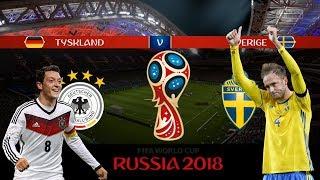 TYSKLAND vs SVERIGE | VM 2018 i Ryssland | Simulerad i FIFA 18