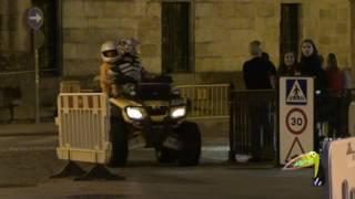 XIII Carreira nocturna popular pedestre de Celanova 2016 Parte 1