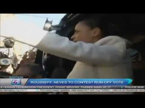 Brazil Election | Rousseff, Neves To Contest Run Off Vote