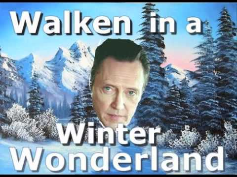 Walken In A Winter Wonderland... A Special Holiday Message!