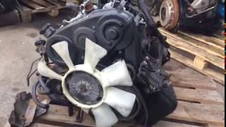 Двигатель D4BH 2.5 100 л.с. Hyundai Starex H1
