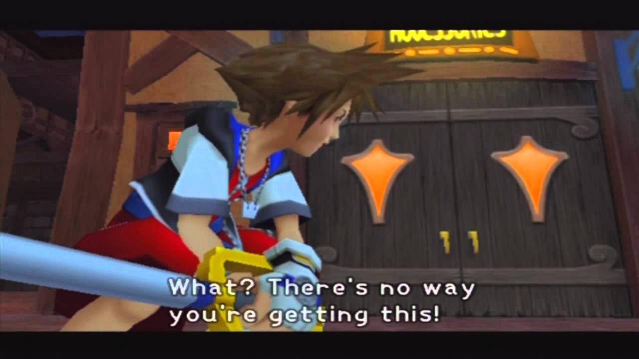 Aerith - Kingdom Hearts Wiki, the Kingdom Hearts encyclopedia   Yuffie And Aerith