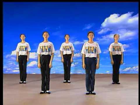 Chinese Xinjiang Dance Tutorial 新疆舞教学【2】Learning to Dance Xinjiang A 学跳维族舞上集