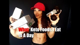 KETOGENIC DIET: What I eat in a day of Keto