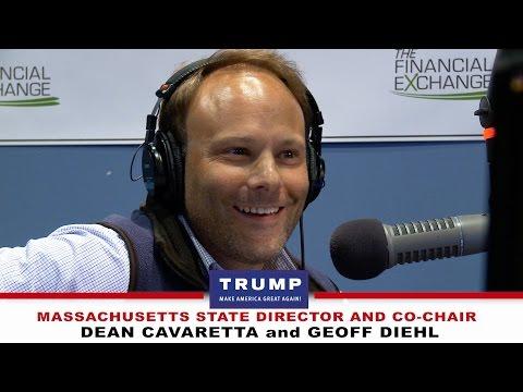 Massachusetts Donald Trump Team - Dean Cavaretta and Geoff Diehl - on The Howie Carr Show.