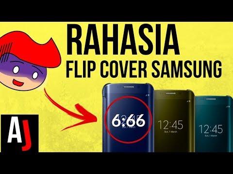 Cara Kerja Flip Cover Clear View Samsung Galaxy | Begini Nih RAHASIA nya!!!