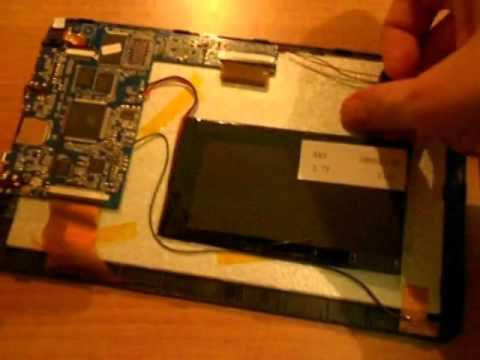 Можно поменять батарею на планшете