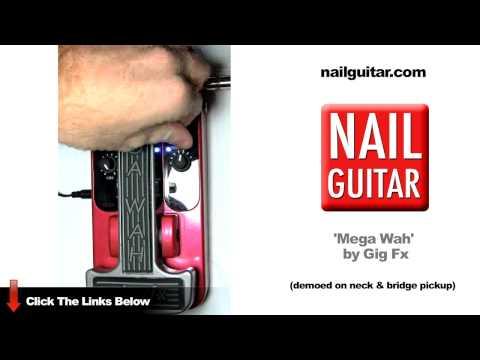 Mega Wah - Gig Fx (Cry Baby, Mega, Trigger, Auto) Guitar Pedal - Plug & Play Review Test