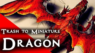 Crafting a Red Dragon Miniature for D&D