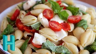 Caprese Pasta Salad |  Hilah Cooking