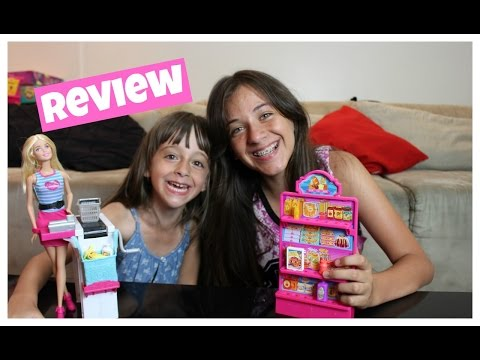 Review Barbie Super Mercado com Sophia Santina e Carol # 1