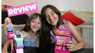 review barbie super mercado com sophia santina e carol 1
