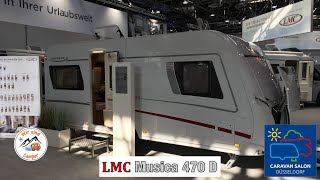 Vorstellung des LMC Musica 470 D auf dem Caravan Salon 2019
