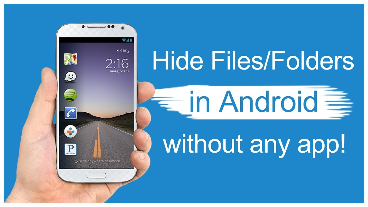 How to hide images in your gallery on Android
