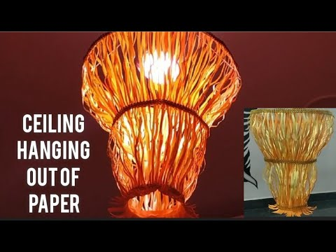 Ceiling hanging | Out of Paper | Paper craft ideas