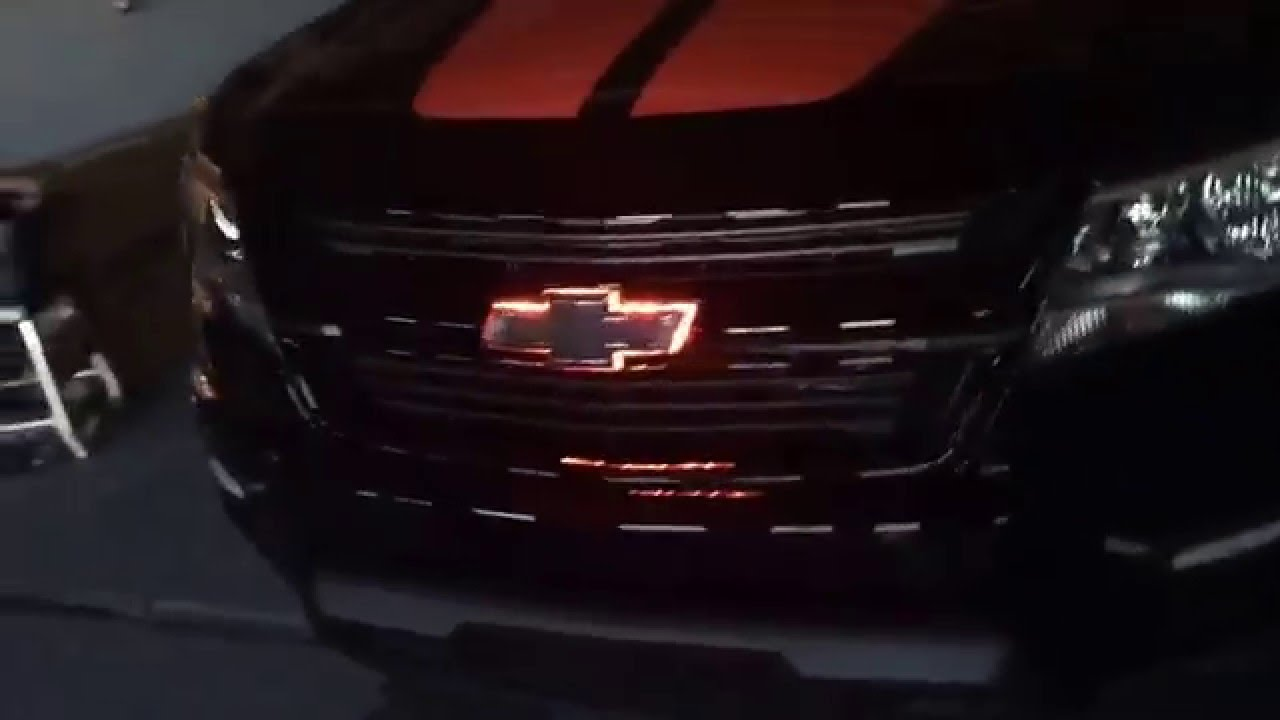2016 Chevy Colorado Red Bow tie emblems - YouTube