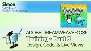 Dreamweaver CS6 Tutorial:  Basic HTML - Part 3 - Create a Website Course