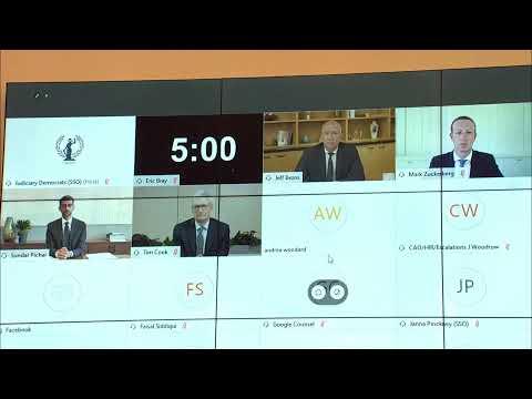 Big Tech Ceos Face Antitrust Hearing In Congress Youtube