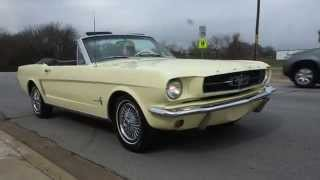1965 Ford Mustang Convertible Sprint 200 Classic