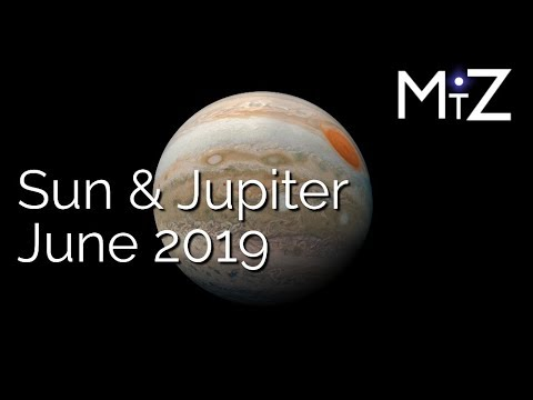 Sun Opposite Jupiter June 10th 2019 - True Sidereal Astrology