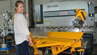 Листогиб ручной | Листогибочный станок LBM Metal Master (Польша)(, 2014-06-24T06:15:40.000Z)