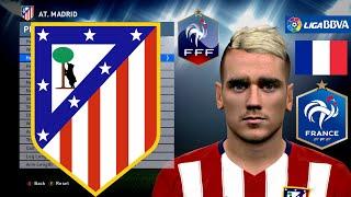 PES 2016 FACE Antoine Griezmann - Atlético de Madrid [DOWNLOAD]