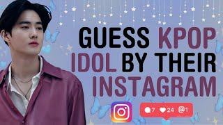 Download lagu KPOP GAMES | GUESS KPOP IDOL BY THEIR INSTAGRAM USERNAME