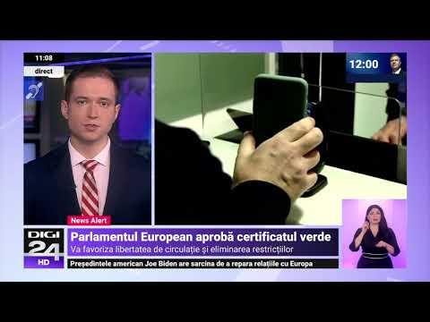 Certificatul digital al UE a fost aprobat oficial și se va aplica de la 1 iulie - Digi24