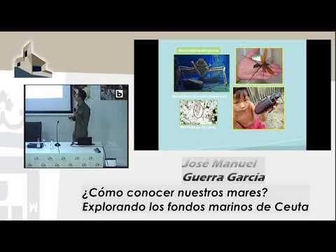 ¿Cómo conocer nuestros mares? conferencia de  José Manuel Guerra García