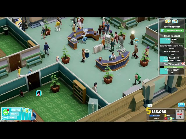 Two Point Hospital - Ep 8 - GP Wing