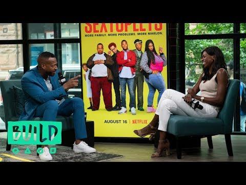 "Marlon Wayans Talks About His Netflix Original Comedy, ""Sextuplets"""