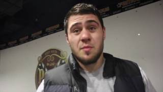 'I TOOK A HELL OF A BEATING AGAINST ORTIZ!' -WHITE RHINO DAVE ALLEN ON FIGHT w/ 'LUKASZ THE PLUMBER'