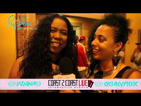 Sypher360 Interviews DJ Nina 9 at Coast2Coast Atl Mixer 2013
