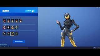 Fortnite Rox Skin Unlock The Color Black