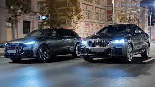 Audi SQ8 vs BMW X6 M50D. Дизельные монстры