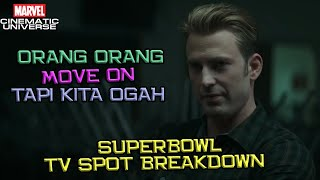 Bakal Langsung Ngegas Dari Awal Film | Avengers End Game Superbowl TV Spot Trailer Breakdown