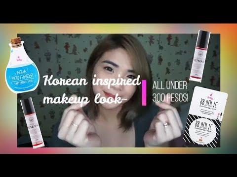 simple Korean inspired makeup tutorial (ALL under 300 pesos!) | Janin Em