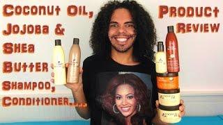 Hair Chemist Coconut Oil JoJoba Shea Butter Product Review Shampoo,Conditioner,Deep Repair Masque