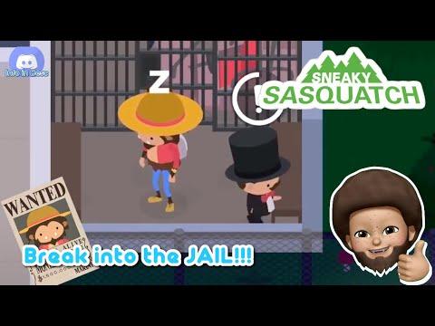 Sneaky Sasquatch Glitch - Break Into The Mr. Pemberton's Jail [Dinsun Video]