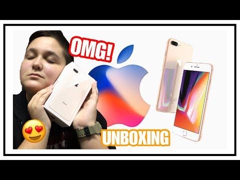 DOBIO SAM IPHONE 8 PLUS! *UNBOXING*