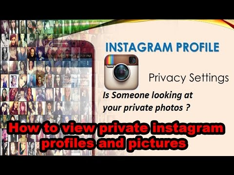 How to view private instagram profiles pictures in 2016 By The Crazy Ayush Garje