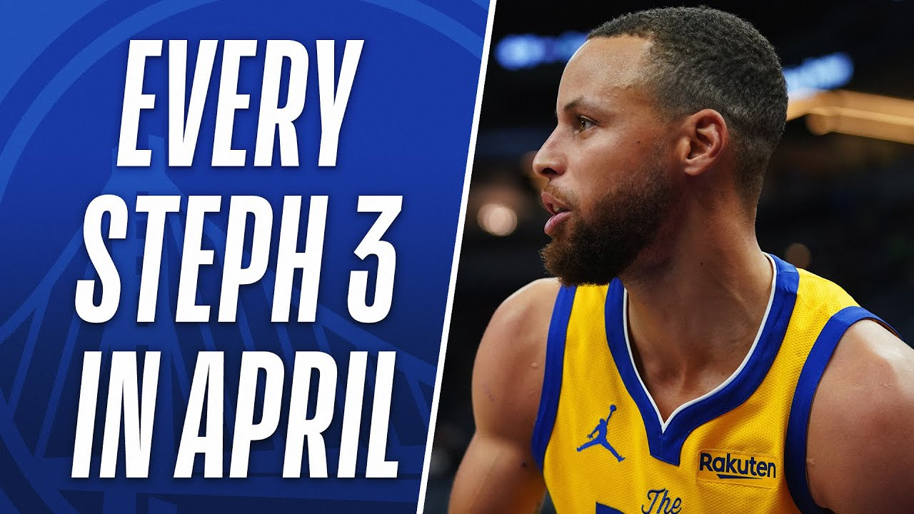 EVERY Steph Curry 3PM From April! 👨🍳