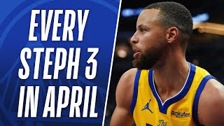 EVERY Steph Curry 3PM From April! 👨‍🍳
