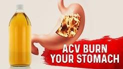 Does Apple Cider Vinegar Burn Your Stomach?